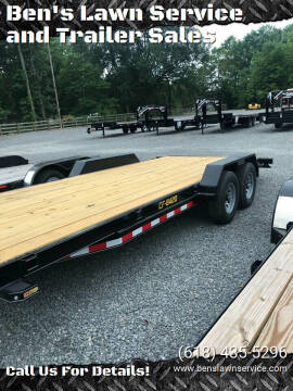 "2020 Doolittle 84""x20'HD Car Hauler CF842098K"