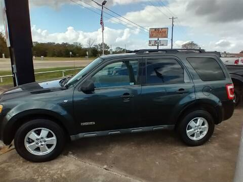 2008 Ford Escape for sale at BIG 7 USED CARS INC in League City TX
