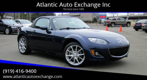 2012 Mazda MX-5 Miata for sale at Atlantic Auto Exchange Inc in Durham NC