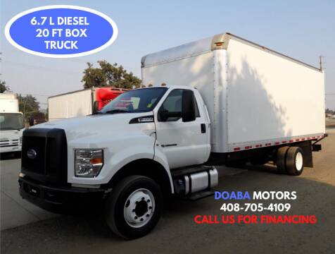 2016 Ford F-650 Super Duty for sale at DOABA Motors - Box Truck in San Jose CA