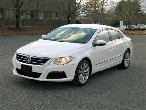 2012 Volkswagen CC for sale at The Car Vault in Holliston MA