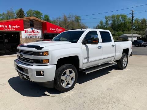 2015 Chevrolet Silverado 2500HD for sale at Twin Rocks Auto Sales LLC in Uniontown PA
