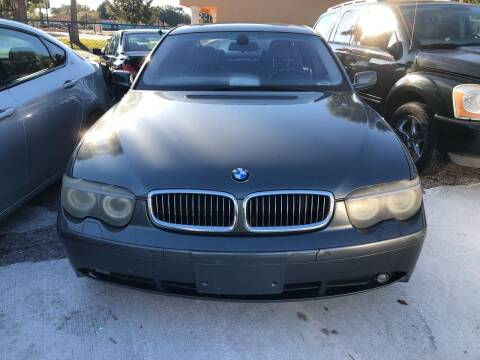 2004 BMW 7 Series for sale at Louie's Auto Sales in Leesburg FL