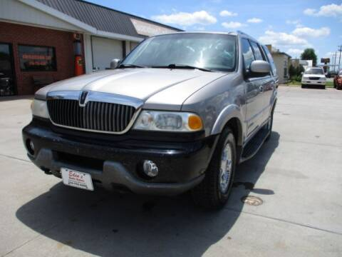 2000 Lincoln Navigator for sale at Eden's Auto Sales in Valley Center KS