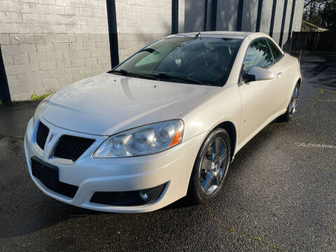 2009 Pontiac G6 for sale at APX Auto Brokers in Lynnwood WA