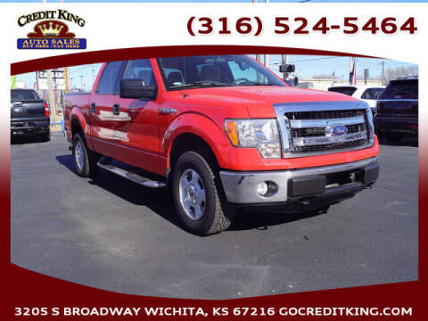 2013 Ford F-150 for sale at Credit King Auto Sales in Wichita KS