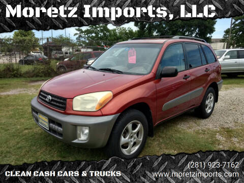 2002 Toyota RAV4 for sale at Moretz Imports, LLC in Spring TX