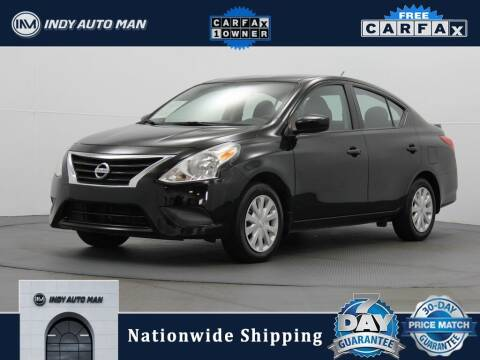 2019 Nissan Versa for sale at INDY AUTO MAN in Indianapolis IN