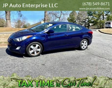 2013 Hyundai Elantra for sale at JP Auto Enterprise LLC in Duluth GA