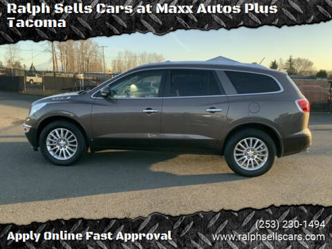 2009 Buick Enclave for sale at Ralph Sells Cars at Maxx Autos Plus Tacoma in Tacoma WA