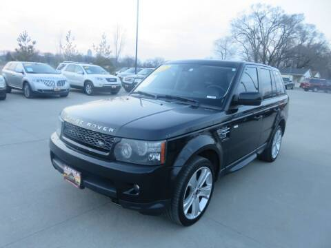 2012 Land Rover Range Rover Sport for sale at Azteca Auto Sales LLC in Des Moines IA