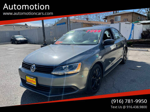 2012 Volkswagen Jetta for sale at Automotion in Roseville CA