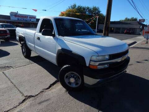 2002 Chevrolet Silverado 2500HD for sale at Dave's discount auto sales Inc in Clearfield UT