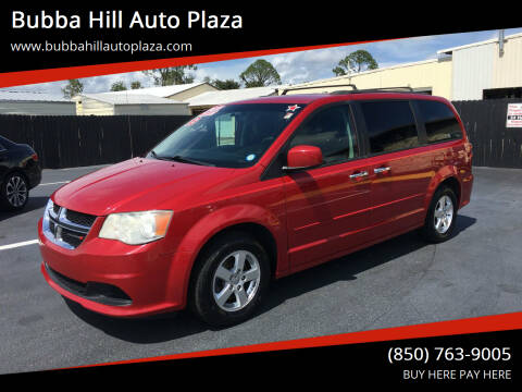 2013 Dodge Grand Caravan for sale at Bubba Hill Auto Plaza in Panama City FL