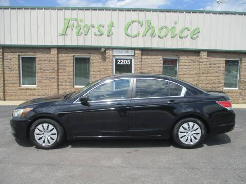 2012 Honda Accord for sale at First Choice Auto in Greenville SC