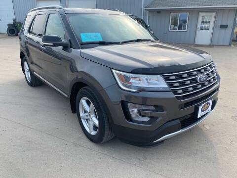 2017 Ford Explorer for sale at BERG AUTO MALL & TRUCKING INC in Beresford SD