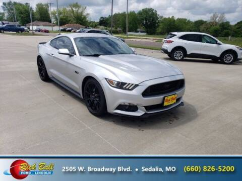 2017 Ford Mustang for sale at RICK BALL FORD in Sedalia MO