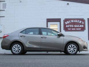 2019 Toyota Corolla for sale at Brubakers Auto Sales in Myerstown PA