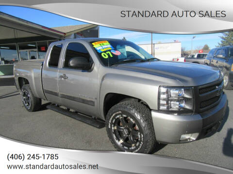 2007 Chevrolet Silverado 1500 for sale at Standard Auto Sales in Billings MT