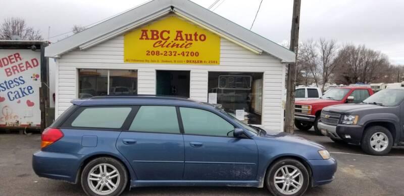 2005 Subaru Legacy for sale at ABC AUTO CLINIC - Chubbuck in Chubbuck ID