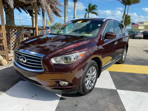 2013 Infiniti JX35 for sale at D&S Auto Sales, Inc in Melbourne FL