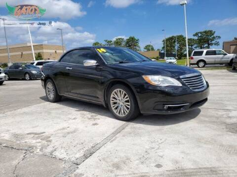 2014 Chrysler 200 Convertible for sale at GATOR'S IMPORT SUPERSTORE in Melbourne FL