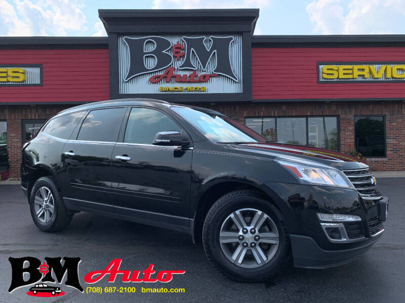 2016 Chevrolet Traverse for sale at B & M Auto Sales Inc. in Oak Forest IL