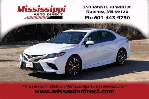 2018 Toyota Camry for sale at Auto Group South - Mississippi Auto Direct in Natchez MS
