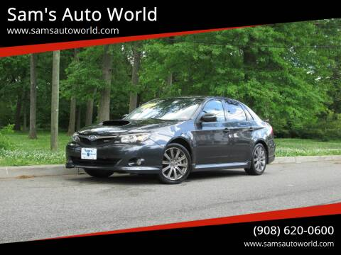2009 Subaru Impreza for sale at Sam's Auto World in Roselle NJ