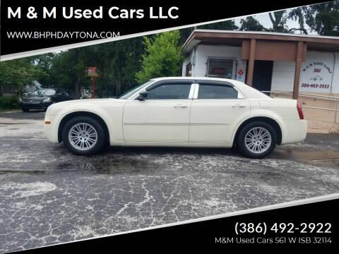 2009 Chrysler 300 for sale at M & M Used Cars LLC in Daytona Beach FL