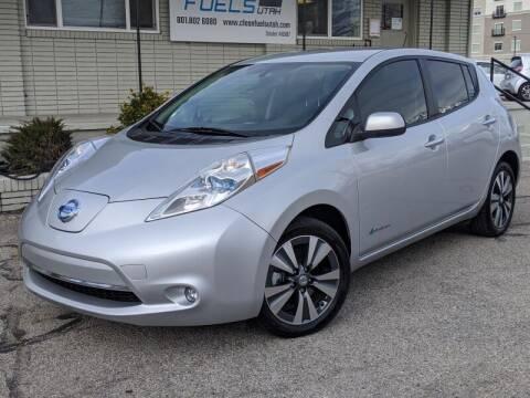 2015 Nissan LEAF for sale at Clean Fuels Utah - SLC in Salt Lake City UT