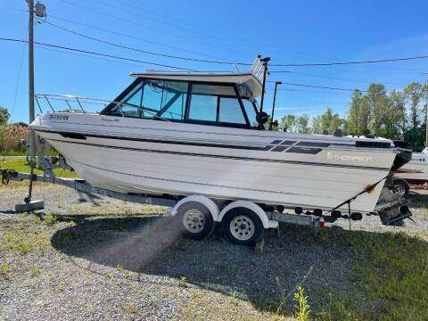 1989 Thompson Fisherman 240 for sale at Champlain Valley MotorSports in Cornwall VT