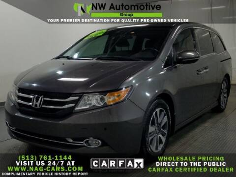 2015 Honda Odyssey for sale at NW Automotive Group in Cincinnati OH