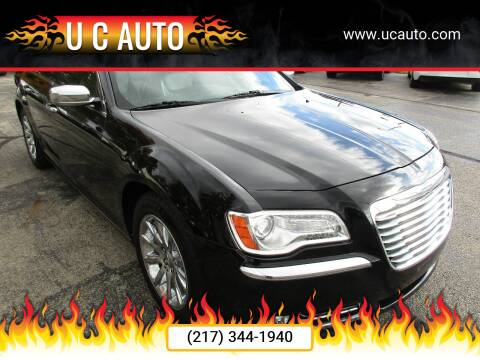 2012 Chrysler 300 for sale at U C AUTO in Urbana IL