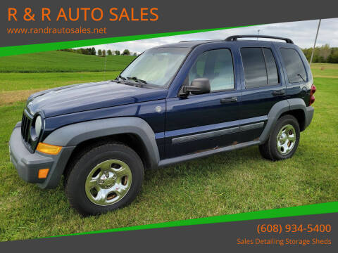 2007 Jeep Liberty for sale at R & R AUTO SALES in Juda WI