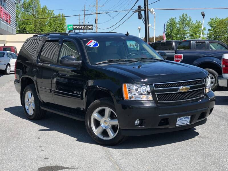 2007 Chevrolet Tahoe for sale at Jarboe Motors in Westminster MD