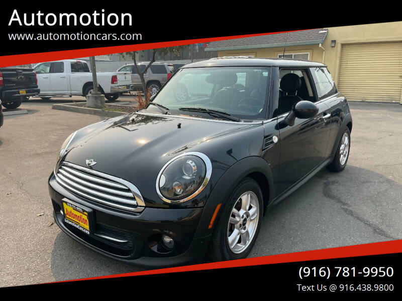 2012 MINI Cooper Hardtop for sale at Automotion in Roseville CA