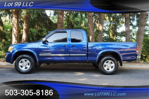 2005 Toyota Tundra for sale at LOT 99 LLC in Milwaukie OR