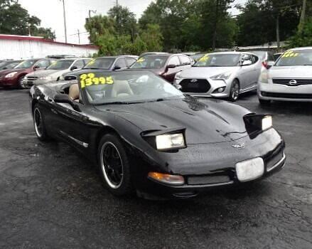 1999 Chevrolet Corvette for sale at DONNY MILLS AUTO SALES in Largo FL