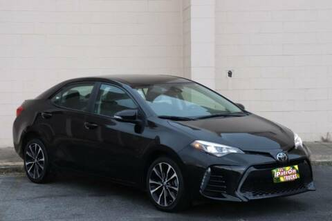 2017 Toyota Corolla for sale at El Patron Trucks in Norcross GA