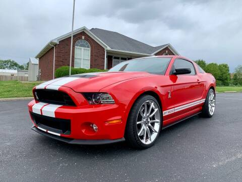 2013 Ford Shelby GT500 for sale at HillView Motors in Shepherdsville KY