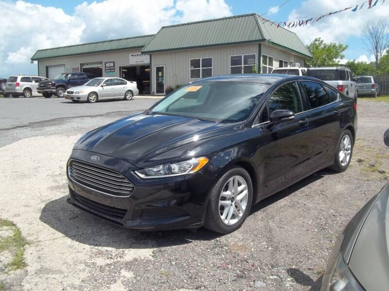2015 Ford Fusion for sale at Warner's Auto Body of Granville Inc in Granville NY