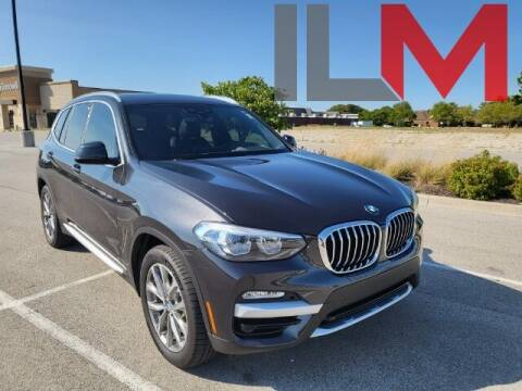 2019 BMW X3 for sale at INDY LUXURY MOTORSPORTS in Fishers IN