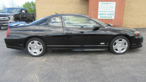 2007 Chevrolet Monte Carlo for sale at LENTZ USED VEHICLES INC in Waldo WI