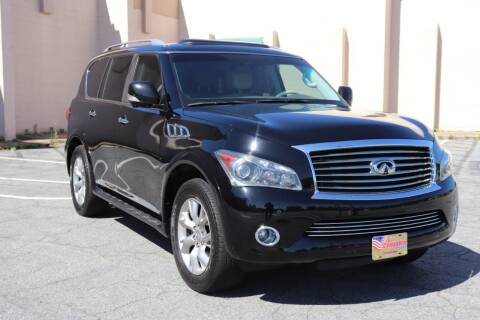 2012 Infiniti QX56 for sale at El Compadre Trucks in Doraville GA