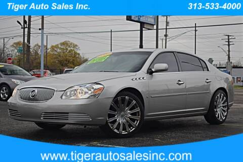 2007 Buick Lucerne for sale at TIGER AUTO SALES INC in Redford MI