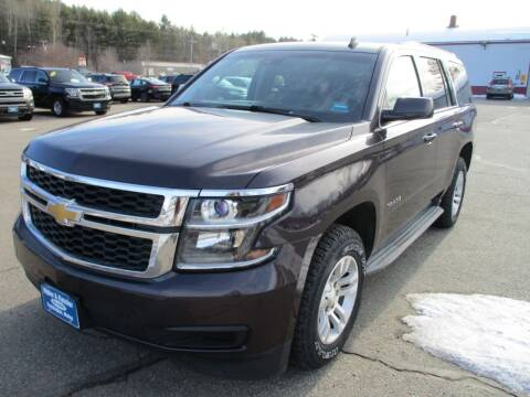 2015 Chevrolet Tahoe for sale at Ripley & Fletcher Pre-Owned Sales & Service in Farmington ME