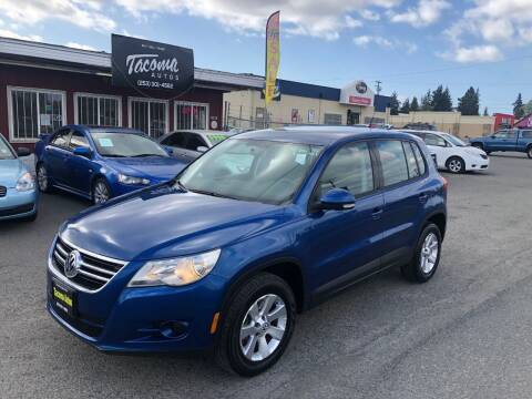 2009 Volkswagen Tiguan for sale at Tacoma Autos LLC in Tacoma WA