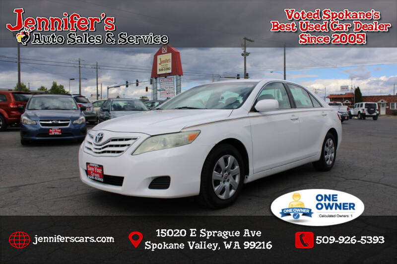 2010 Toyota Camry for sale at Jennifer's Auto Sales in Spokane Valley WA