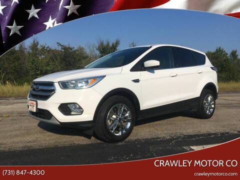 2017 Ford Escape for sale at Crawley Motor Co in Parsons TN